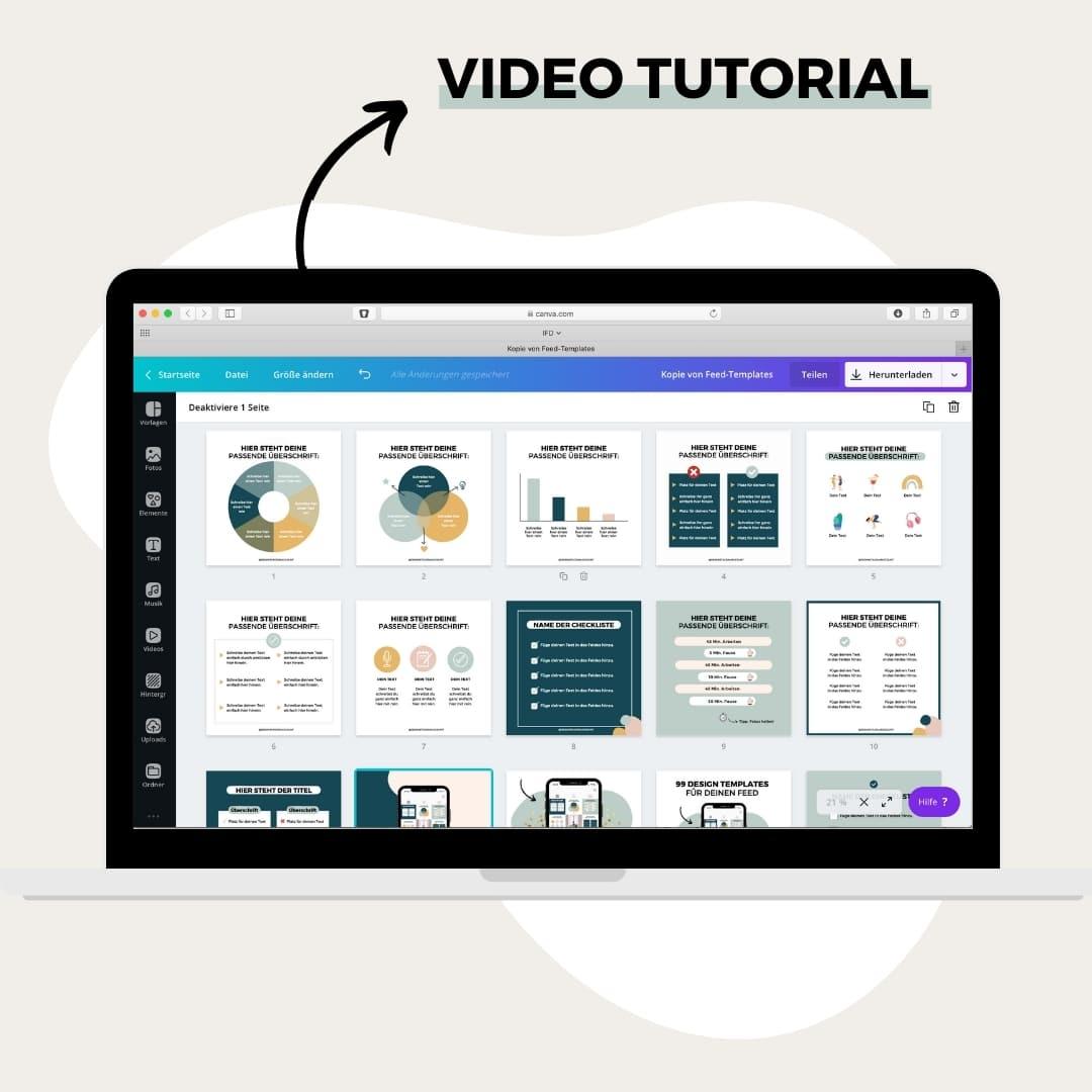 Hilfreiche Video-Anleitung