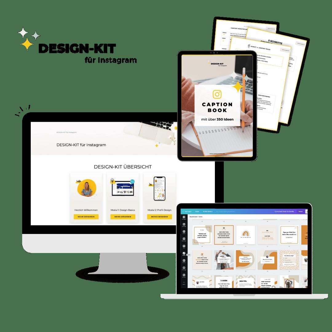 Design-Kit für Instagram Übersicht