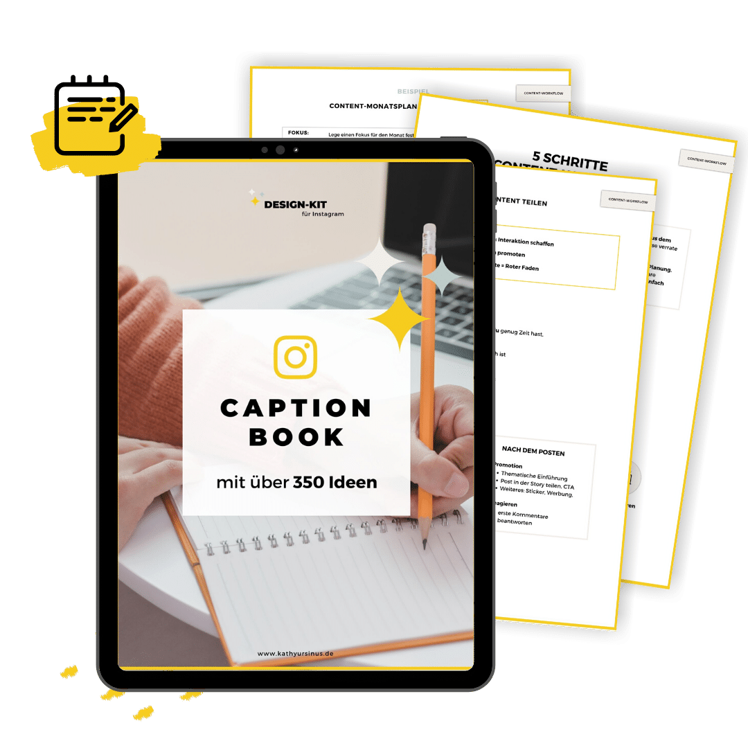 Design-Kit Workbooks und Caption-Book