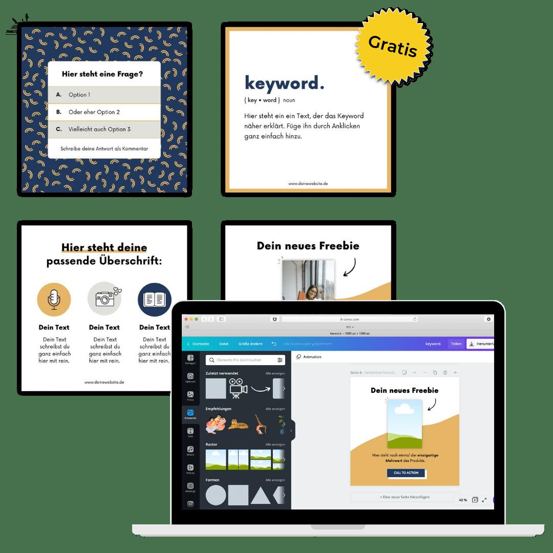 Freebie kostenlose Vorlagen