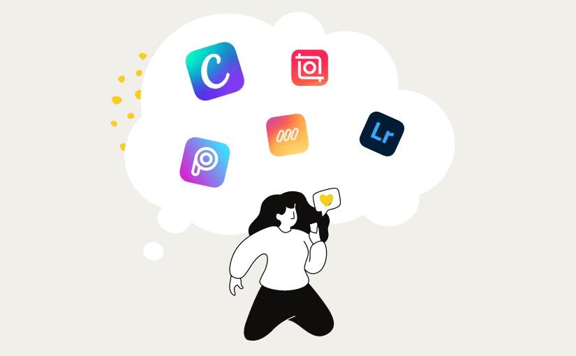 Meine Top 5 Apps für kreatives Content-Design auf Instagram + Beispiele