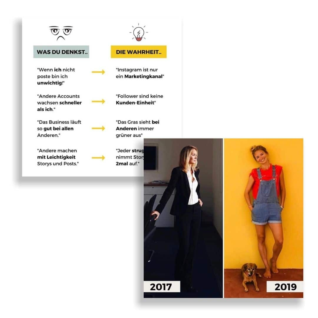Vorher/Nachher-Design Beispiele