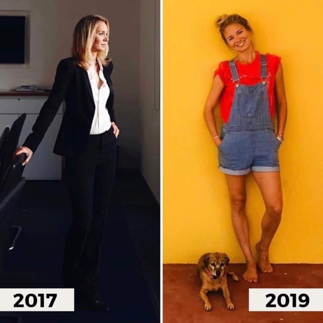 Kathy vor und nach der Selbstständigkeit
