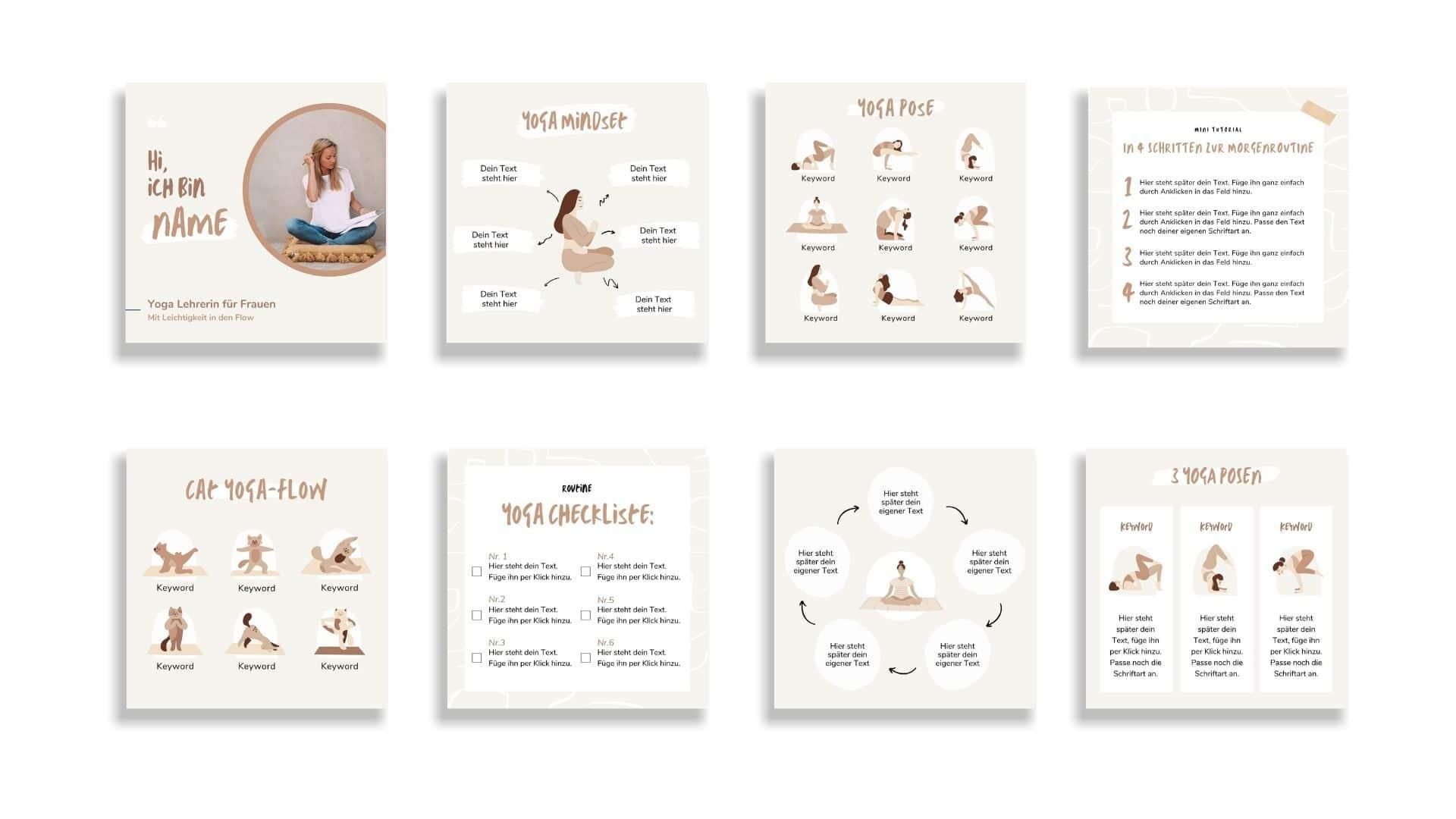 Designset Yoga Einblick