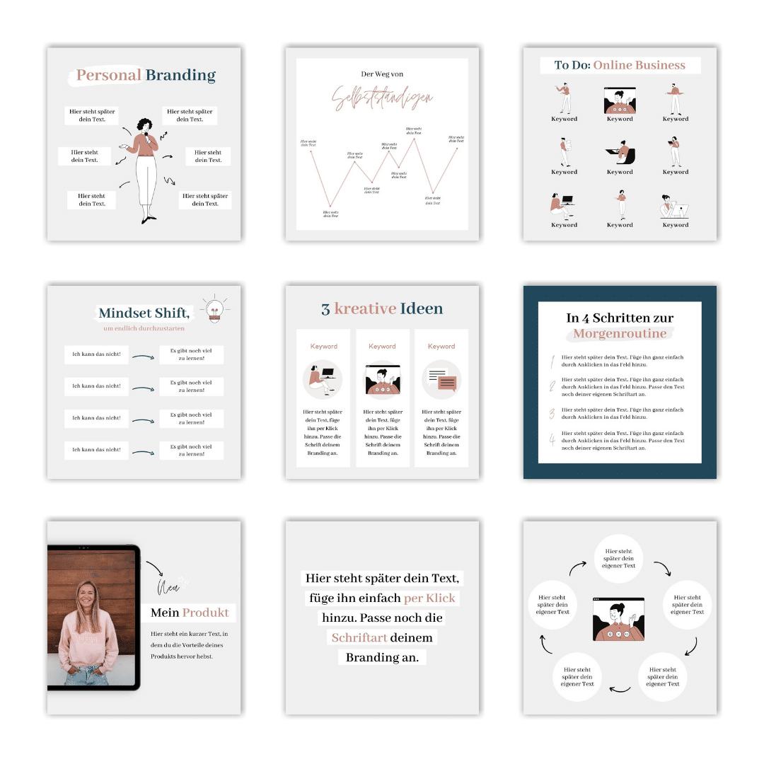 Design-Set Fempreneur Einblick