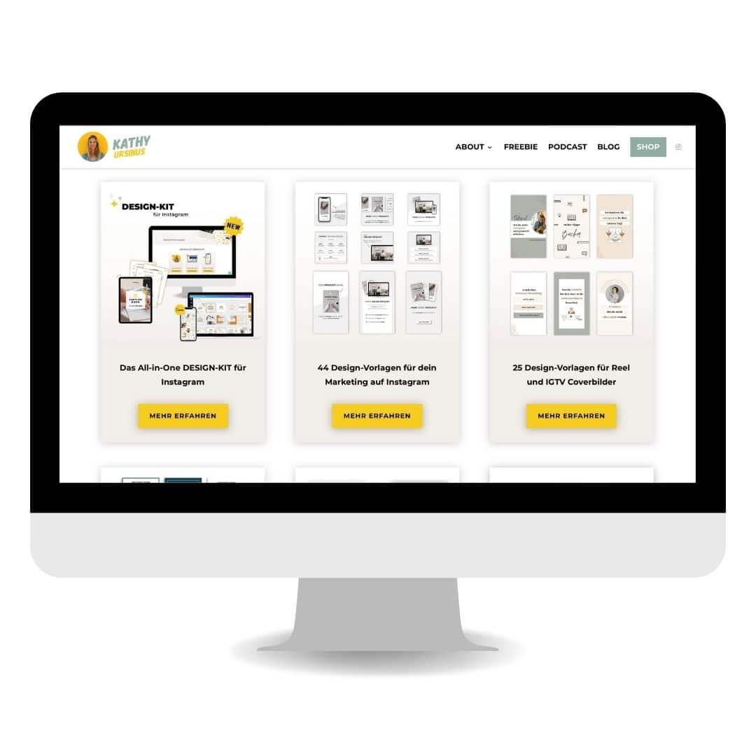 Content Design Shop Screenshot