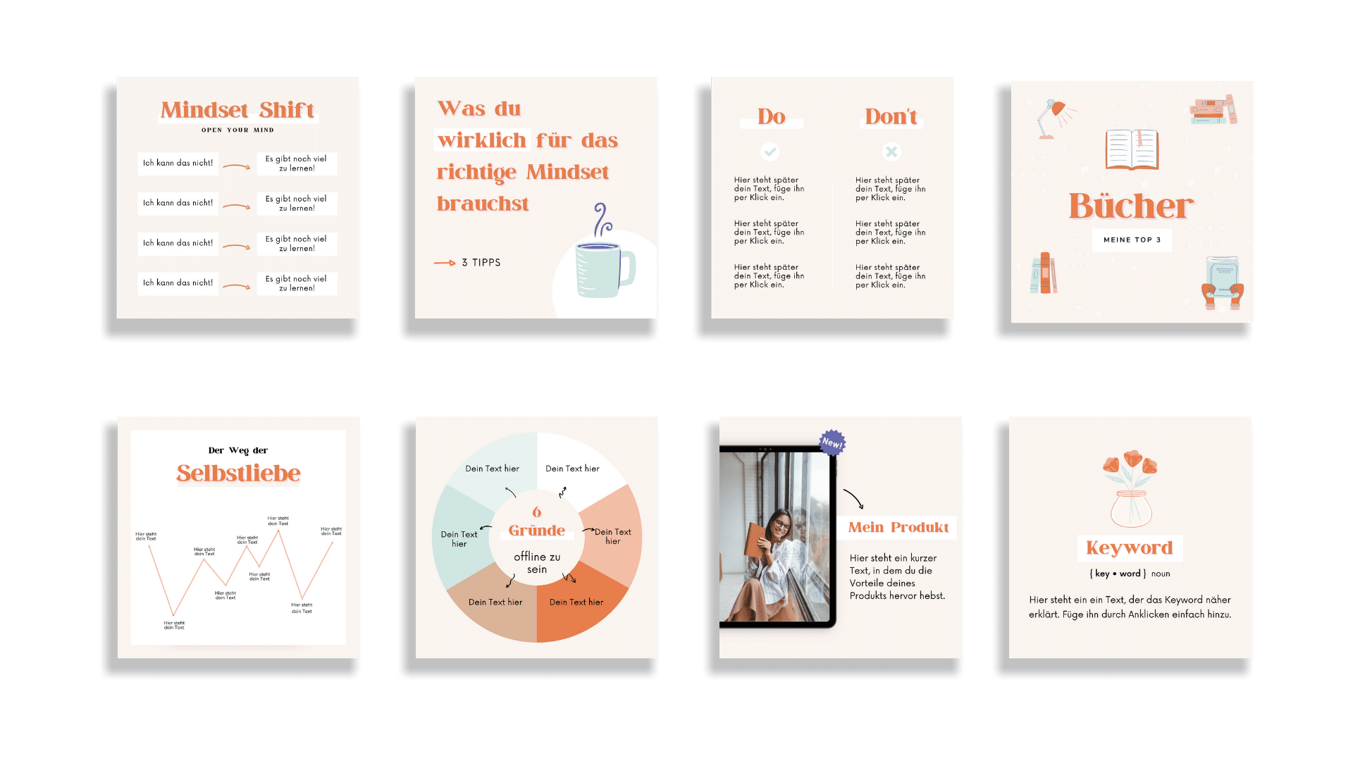 Design Set Mindset Uebersicht 2