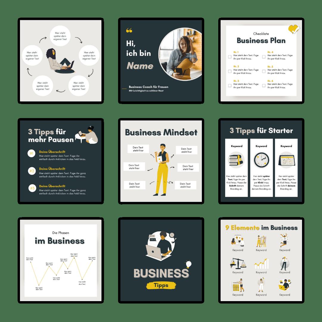 Designset Business Uebersicht