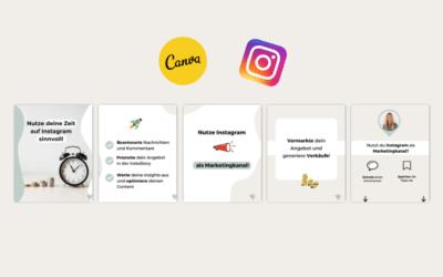 Erstelle in 4 Schritten mühelos einen überzeugenden Instagram Post aus mehreren Bildern
