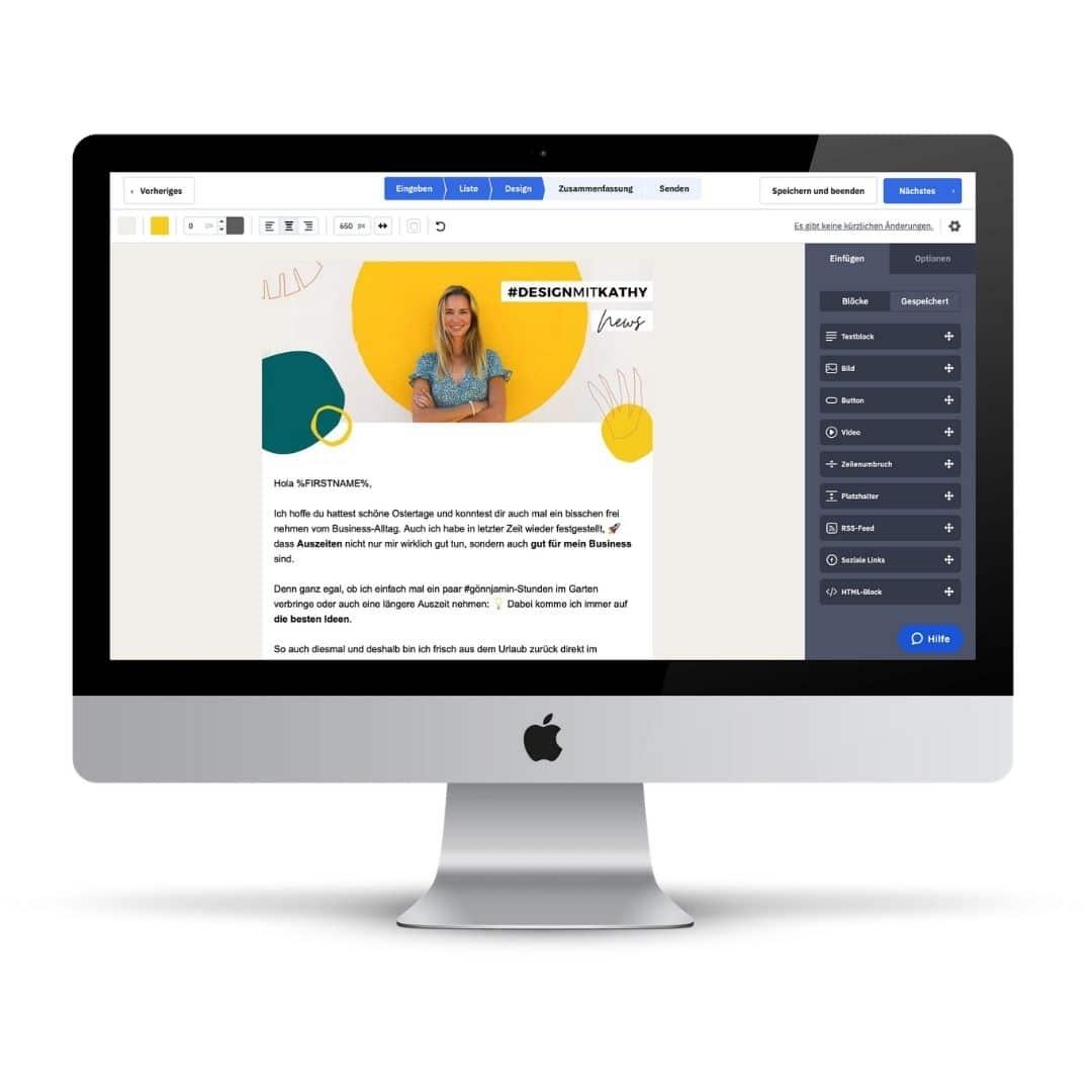 Active Campaign: Mein Business Tool für meine Newsletter-Mails