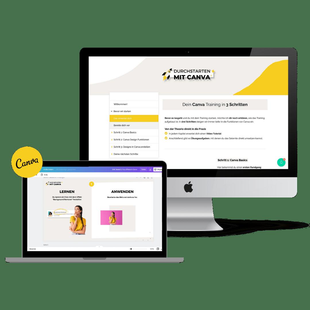 Durchstarten mit Canva Produktbild