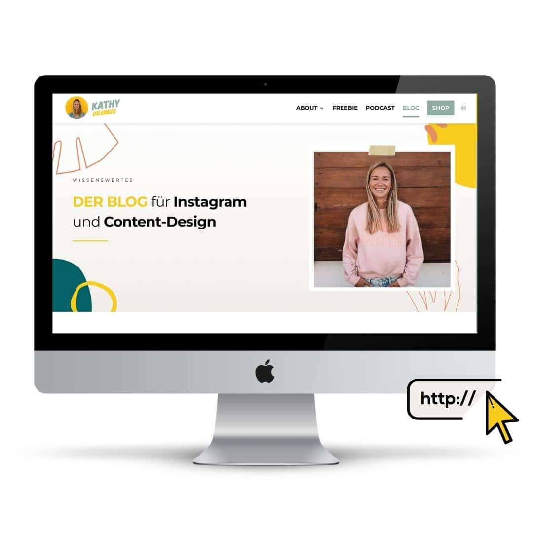 Website-Design mit Canva