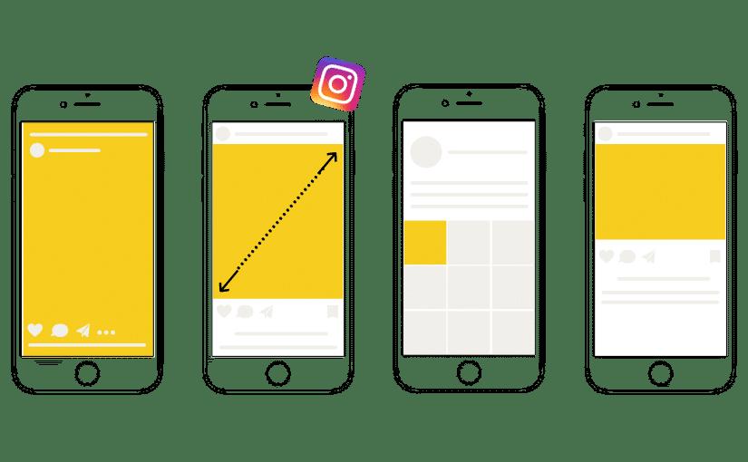 Instagram Formate Design Größen
